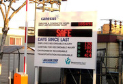 Buy LED Health & Safety Display Signs