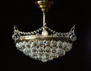 Chandelier Golden Crystal Ball DC76130-6-xx for Sale!