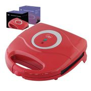 Buy Online Quest Sandwich Maker 800 Watt Red